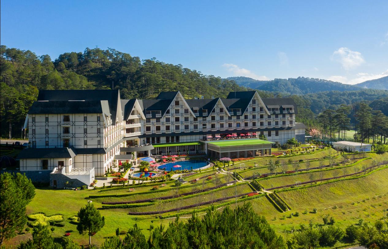 khu resort chất lượng tại Đà Lạt