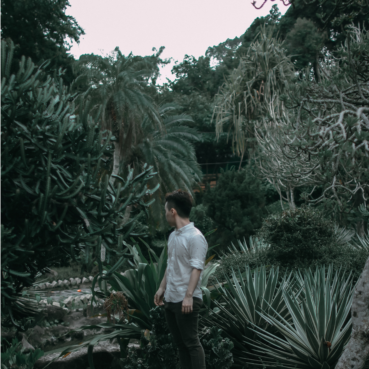 chụp hình ở Thảo Cầm Viên