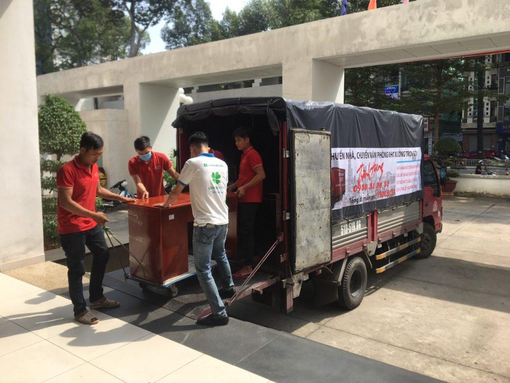 Bố Xếp hàng hóa Quận Bình Thạnh   chuyển nhà Thành Hưng