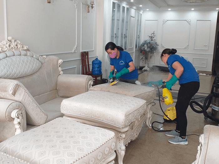 Dịch vụ giặt ghế sofa tại nhà GFC CLEAN