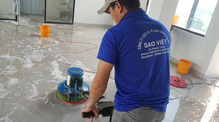 Dịch vụ dọn vệ sinh theo giờ Vệ sinh Sao Việt