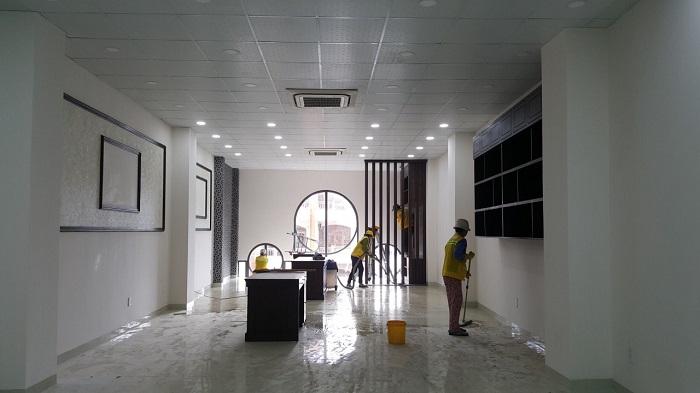 Dịch vụ vệ sinh văn phòng Việt Clean