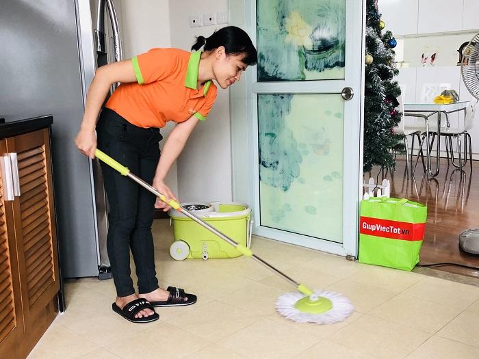Dịch vụ dọn vệ sinh theo giờ TKT Cleaning