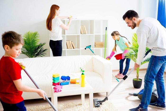 Dịch vụ dọn vệ sinh theo giờ Vệ sinh Công nghiệp Năm Sao