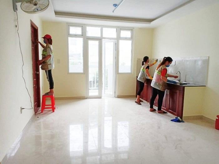 Dịch vụ dọn vệ sinh theo giờ Thịnh Phát