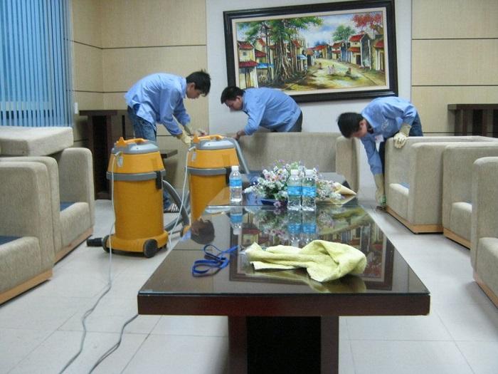 Dịch vụ vệ sinh văn phòng Green House