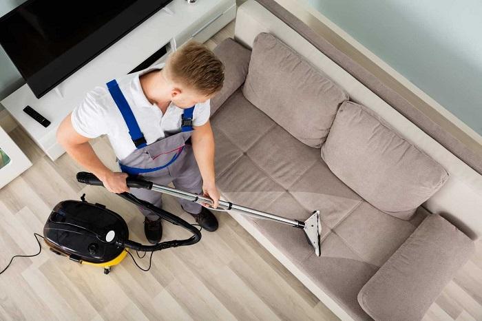 Dịch vụ giặt ghế sofa tại nhà Quận 1 GFC CLEANING