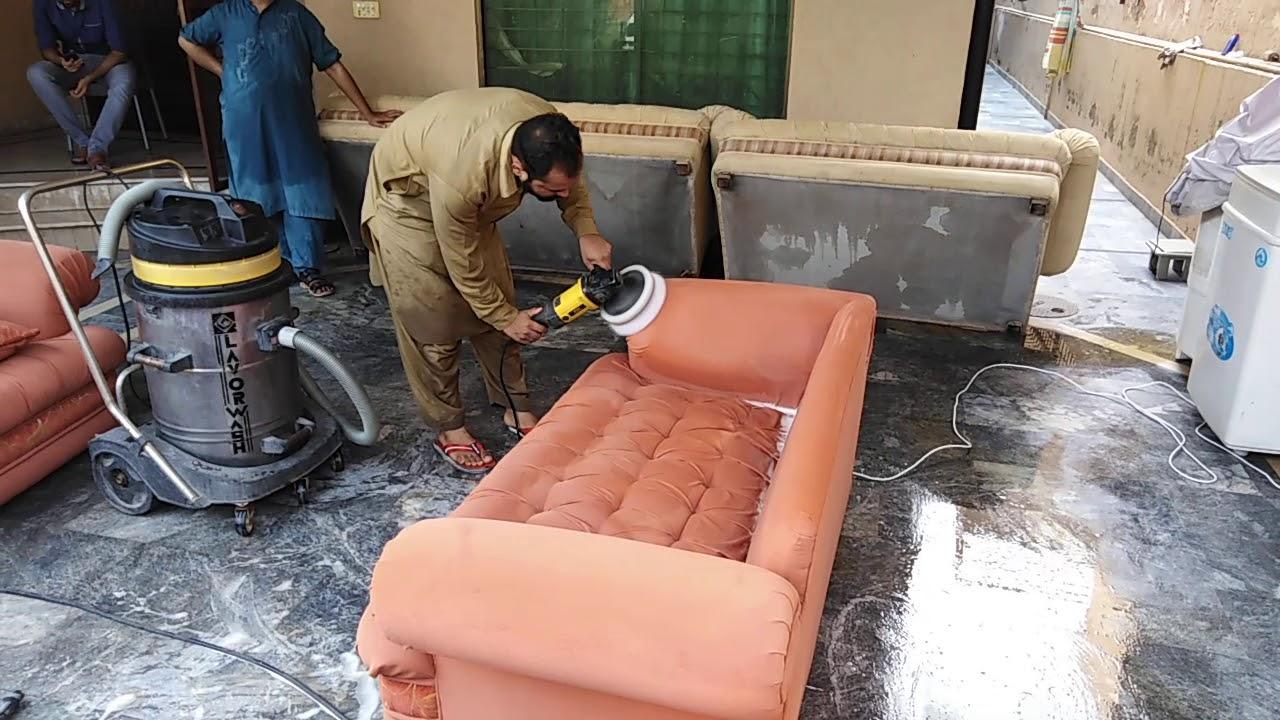 Dịch giặt ghế sofa tại nhà Quận 1 Bảo LInh