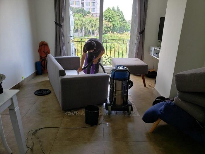 dịch vụ giặt ghế sofa tại nhà Quận 1 Nguyên Phát