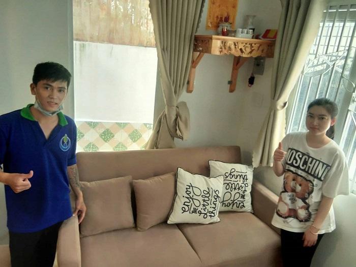 Dịch vụ giặt ghế sofa tại nhà Quận 1 Phạm Gia