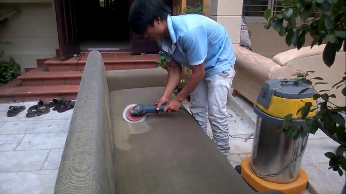Dịch giặt ghế sofa tại nhà Quận 1 Vệ sinh Việt