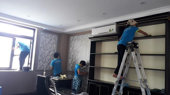 Dịch vụ vệ sinh công nghiệp Buildwork