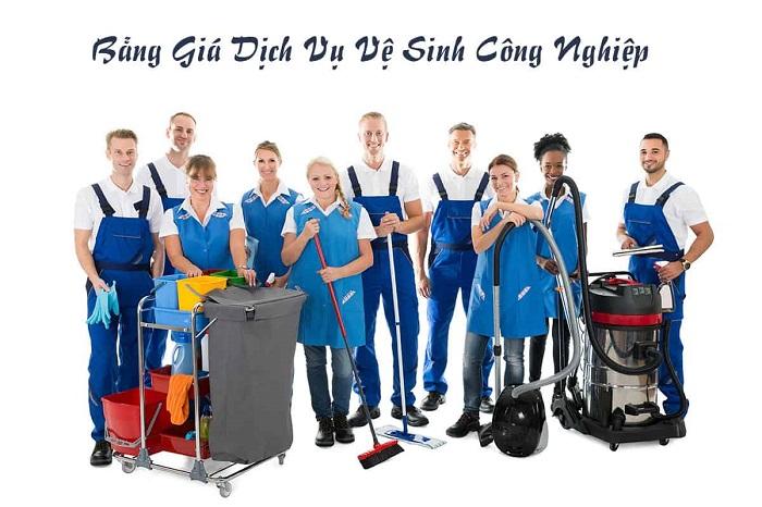 Dịch vụ vệ sinh công nghiệp Gia Khang