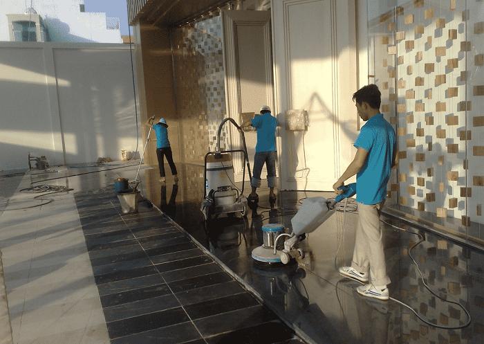 Dịch vụ vệ sinh công nghiệp ISS CLEANING