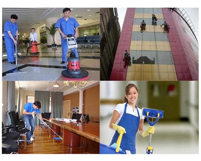Dịch vụ vệ sinh công nghiệp Môi Trường Xanh