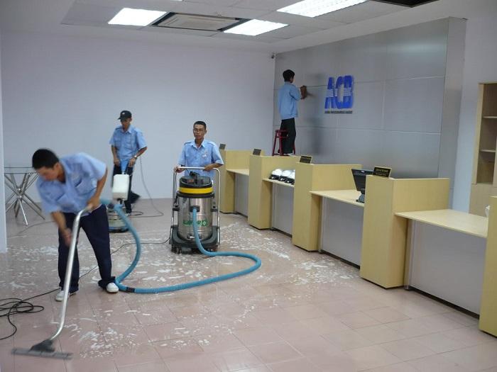 Dịch vụ vệ sinh công nghiệp Vệ sinh Anh Thư