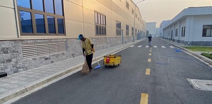 Dịch vụ vệ sinh công nghiệp Đông Dương