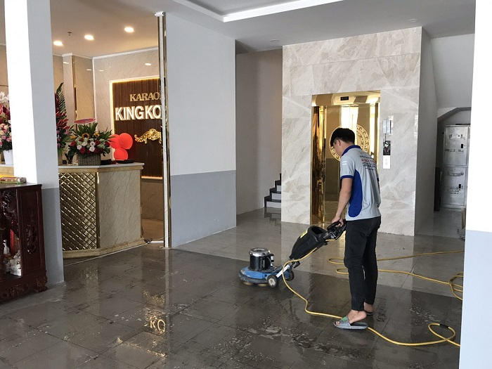 Dịch vụ vệ sinh công nghiệp Thanh Bình