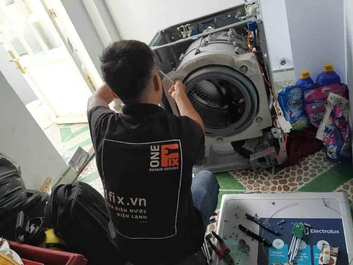 Dịch vụ vệ sinh máy giặt 1Fix