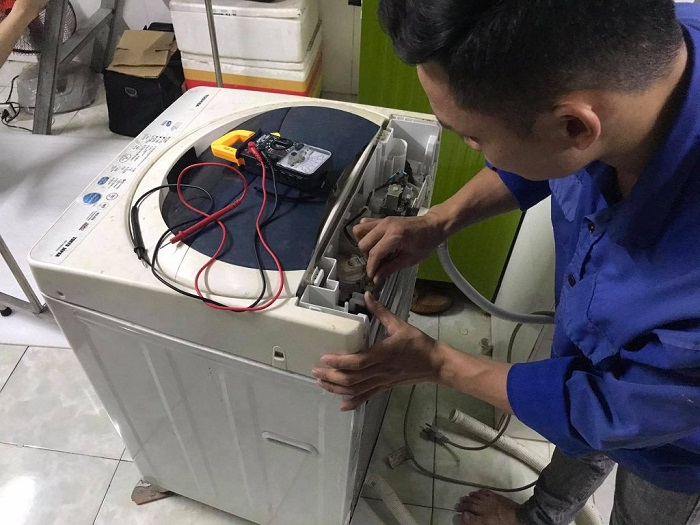 Dịch vụ vệ sinh máy giặt Điện lạnh Á Châu