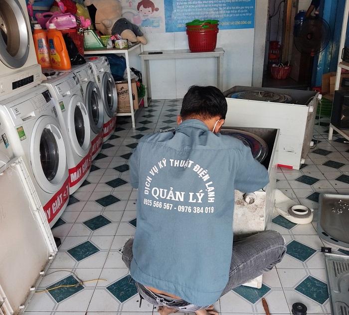 Dịch vụ vệ sinh máy giặt Điện lạnh Ánh Dương