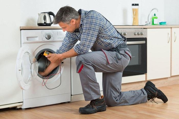 Dịch vụ vệ sinh máy giặt Điện lạnh Số Đỏ