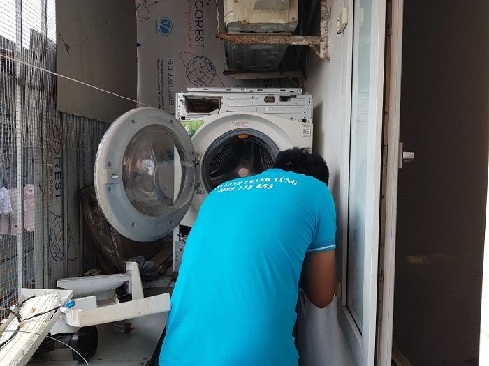 Dịch vụ vệ sinh máy giặt Điện lạnh Thiên Hòa