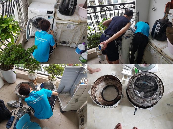 Dịch vụ vệ sinh máy giặt Điện lạnh Trường Thịnh