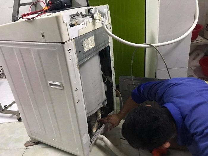 Dịch vụ vệ sinh máy giặt Điện lạnh Vila