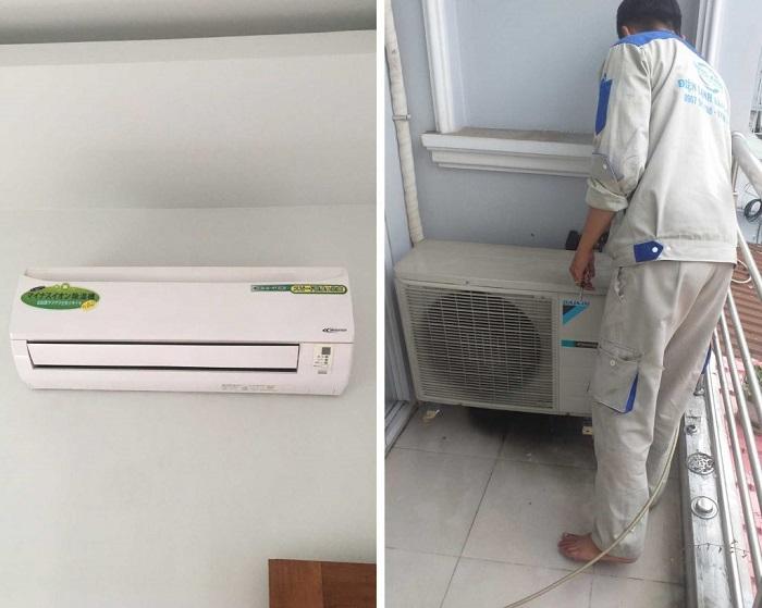 Dịch vụ vệ sinh máy lạnh Điện lạnh HS