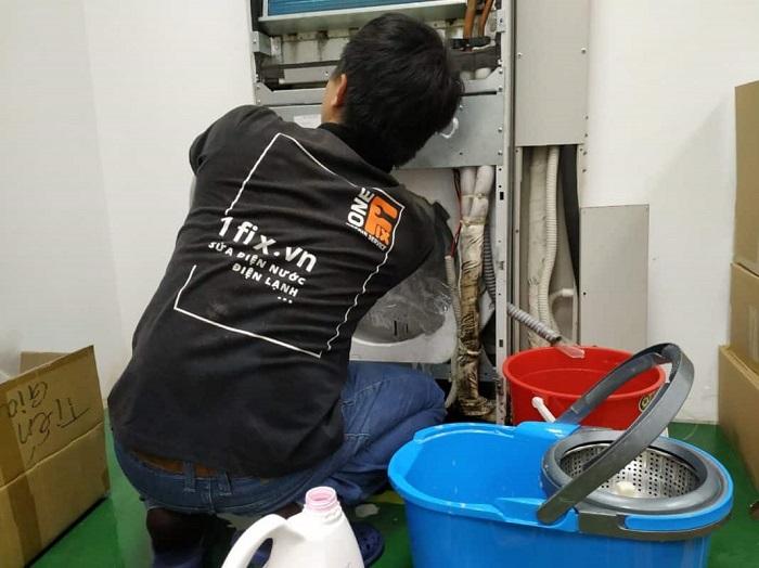 Dịch vụ vệ sinh máy lạnh 1FIX