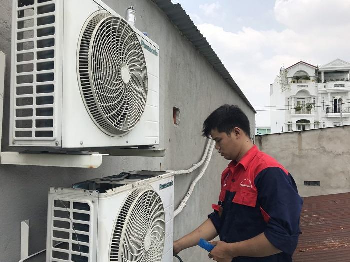 Dịch vụ vệ sinh máy lạnh Điện lạnh Á Châu