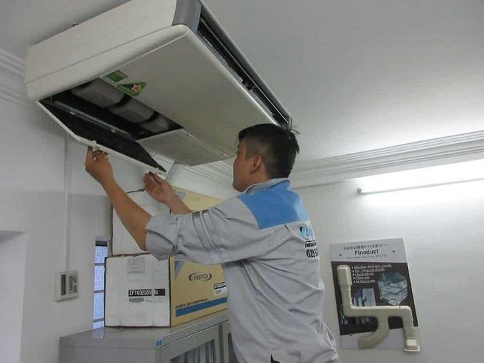 Dịch vụ vệ sinh máy lạnh Điện lạnh Sapa
