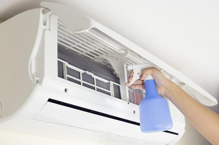 Dịch vụ vệ sinh máy lạnh Điện lạnh Số Đỏ