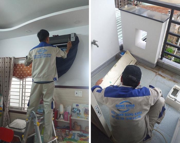 Dịch vụ vệ sinh máy lạnh Trung tâm bảo hành điện lạnh 24H