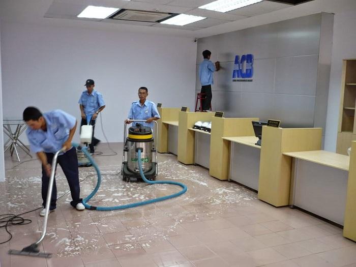 Dịch vụ vệ sinh Tân Tiến