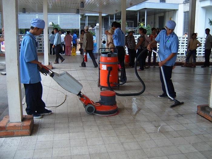 Dịch vụ vệ sinh Thái Nguyễn