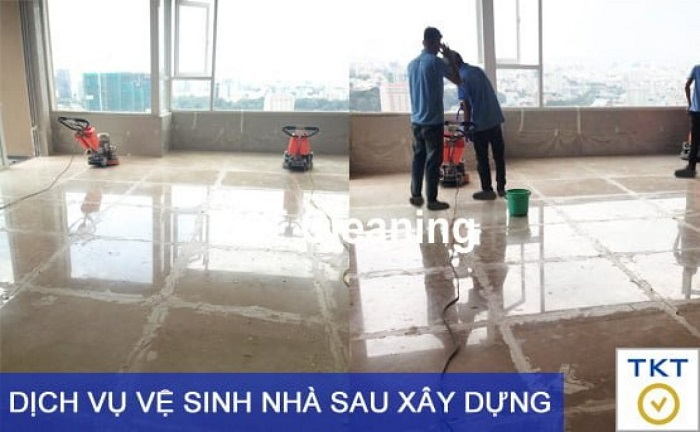 Dịch vụ vệ sinh TKT Cleaning