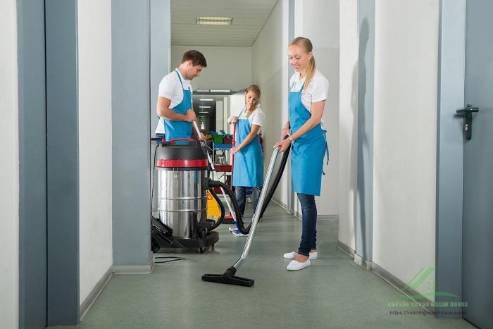 Dịch vụ vệ sinh văn phòng GFC CLEAN
