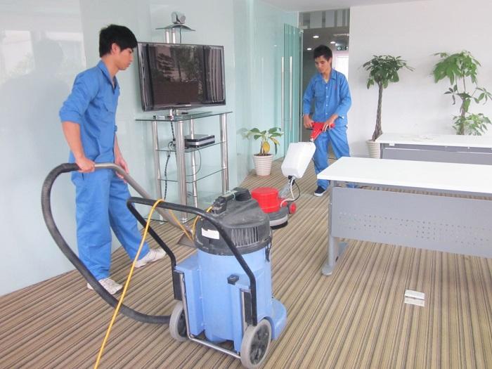 Dịch vụ vệ sinh văn phòng Nhật An