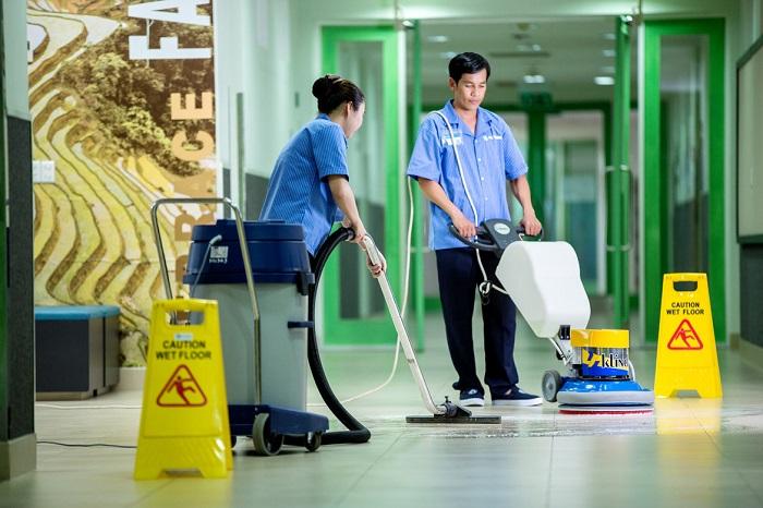 Dịch vụ vệ sinh văn phòng Pan Pacific Sài Gòn