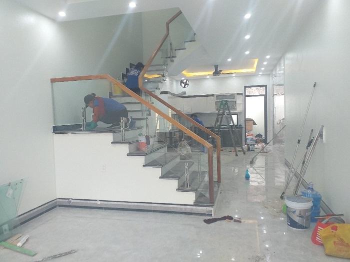 Vệ sinh nhà sau xây dựng GFC CLEAN